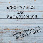 La farma permanecerá abierta para todo lo que necesitéis 🥰🥰. Los pedidos realizados durante el mes de agosto se servirán en SEPTIEMBRE por orden de entrada!! . Nos vemos en septiembre!!! Disfruten y cuídense mucho!!!! . . . . . . . #farmacia #vacaciones #noslomerecenos #volveremosconmasfuerza