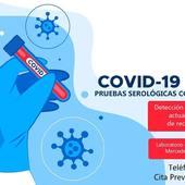 Realizamos Test de Detección de CoVid19 🦠 en el Laboratorio de Análisis Clínicos. Pide cita y sal de dudas 😉
